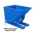 Rental store for DUMPING HOPPER, 2 CU YD STEEL BIN in Vancouver / Surrey BC